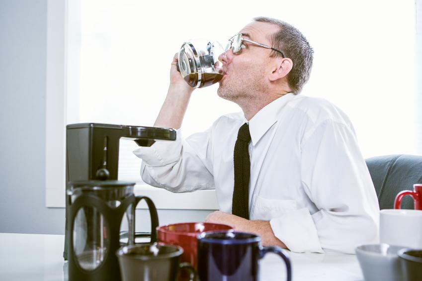 Caffeine break to fuel more email triage