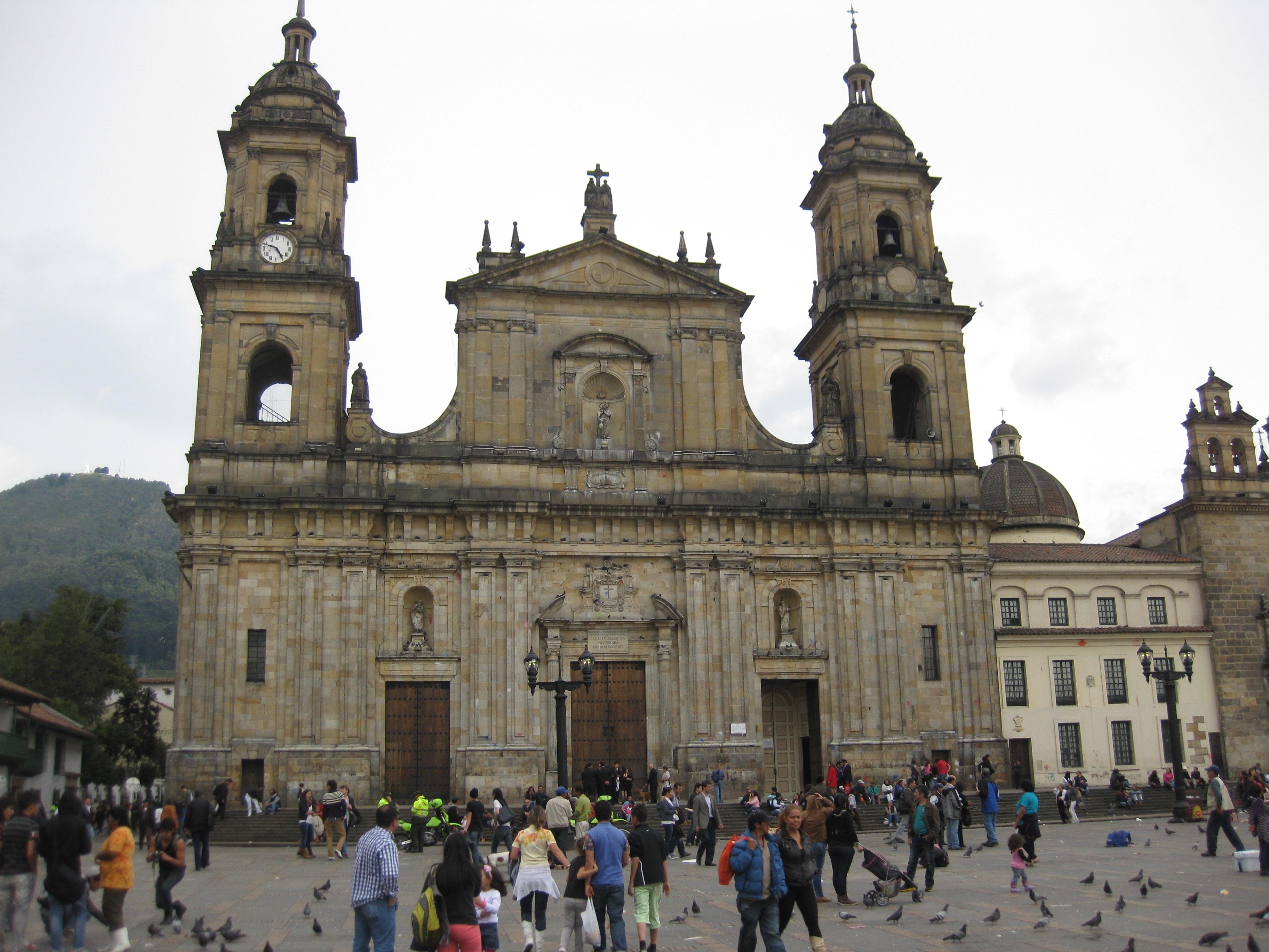 Central cathedral in Bogota