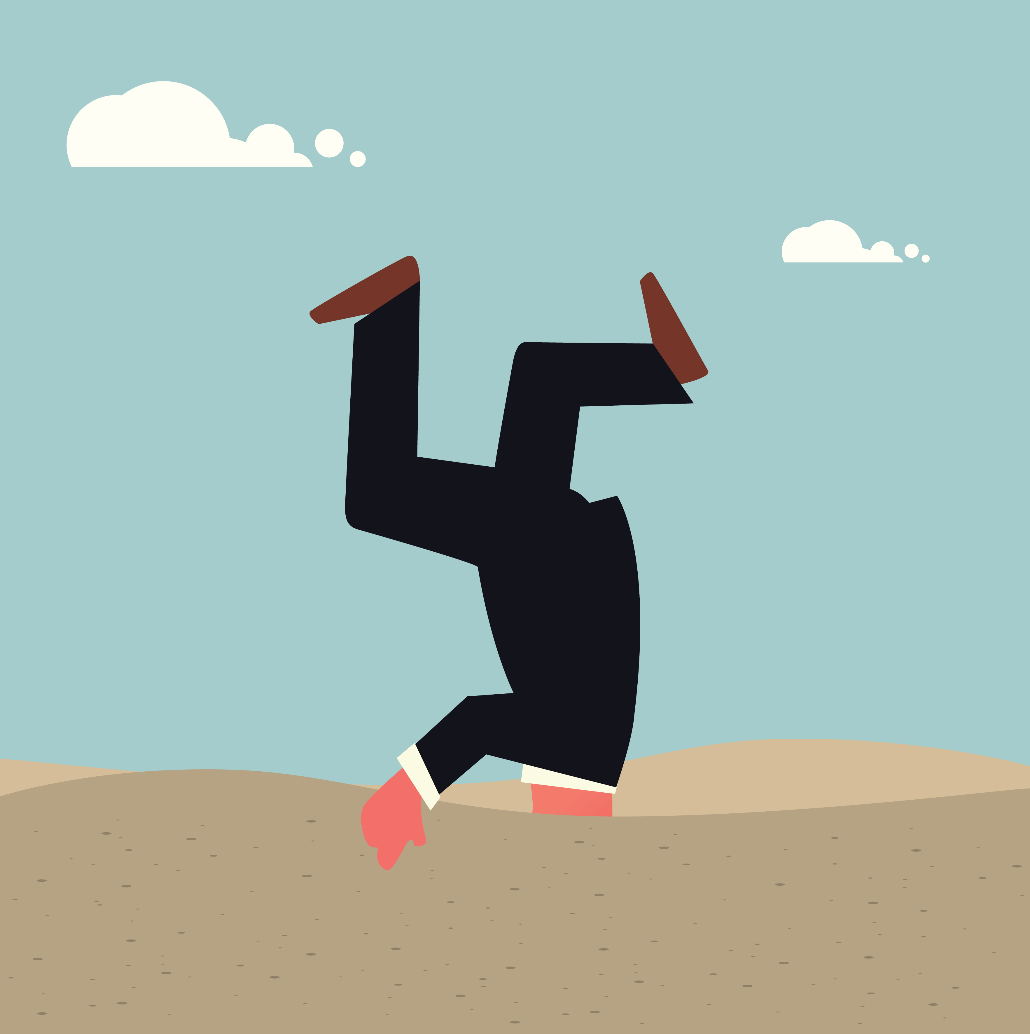 Getting heads out of the sand on stress