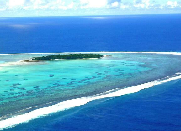 Aitutaki Island is the place for vacation copy