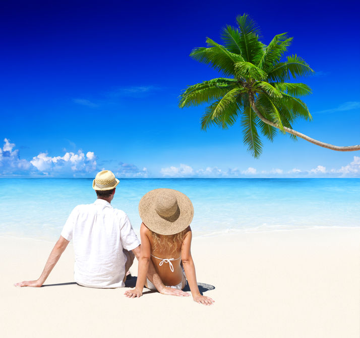 Beach couple-1