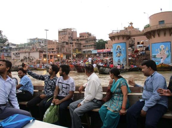 Boat cruise in Varanasi copy