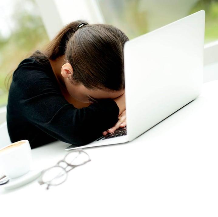 Burnout Woman 40562450_m