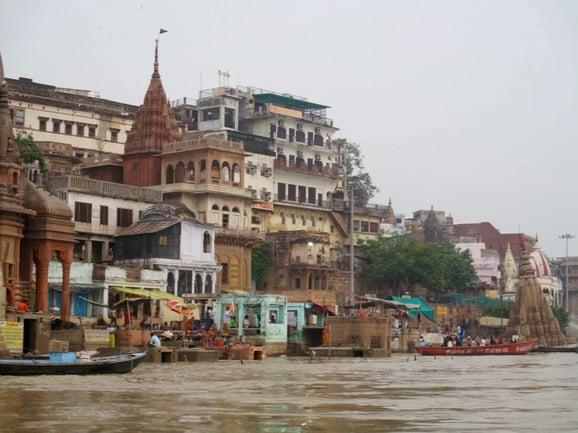 Ganges river architecture copy