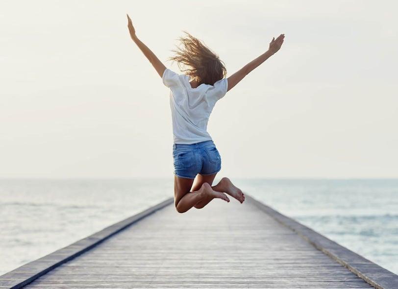 Girl jumping-1