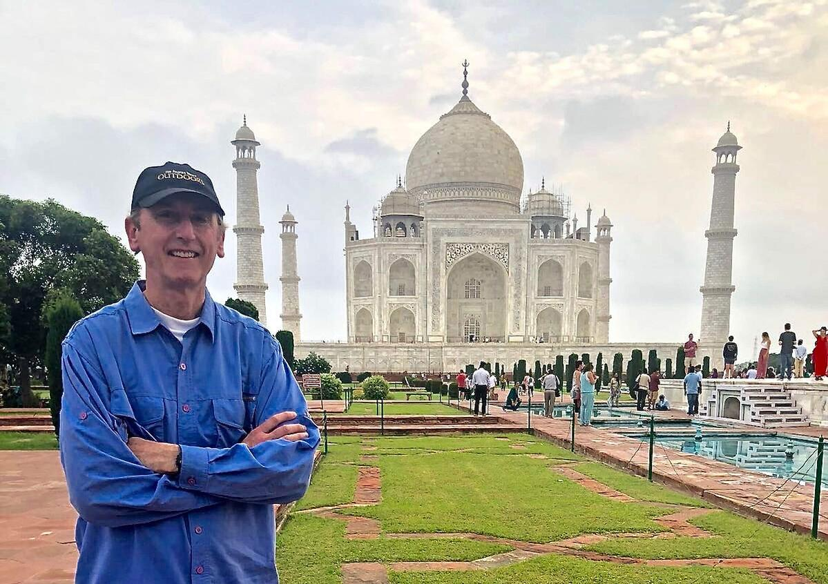 Joe Robinson at Taj Mahal