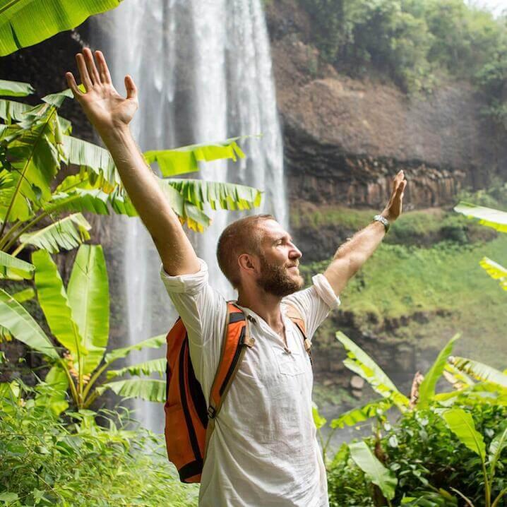 Life balance waterfall
