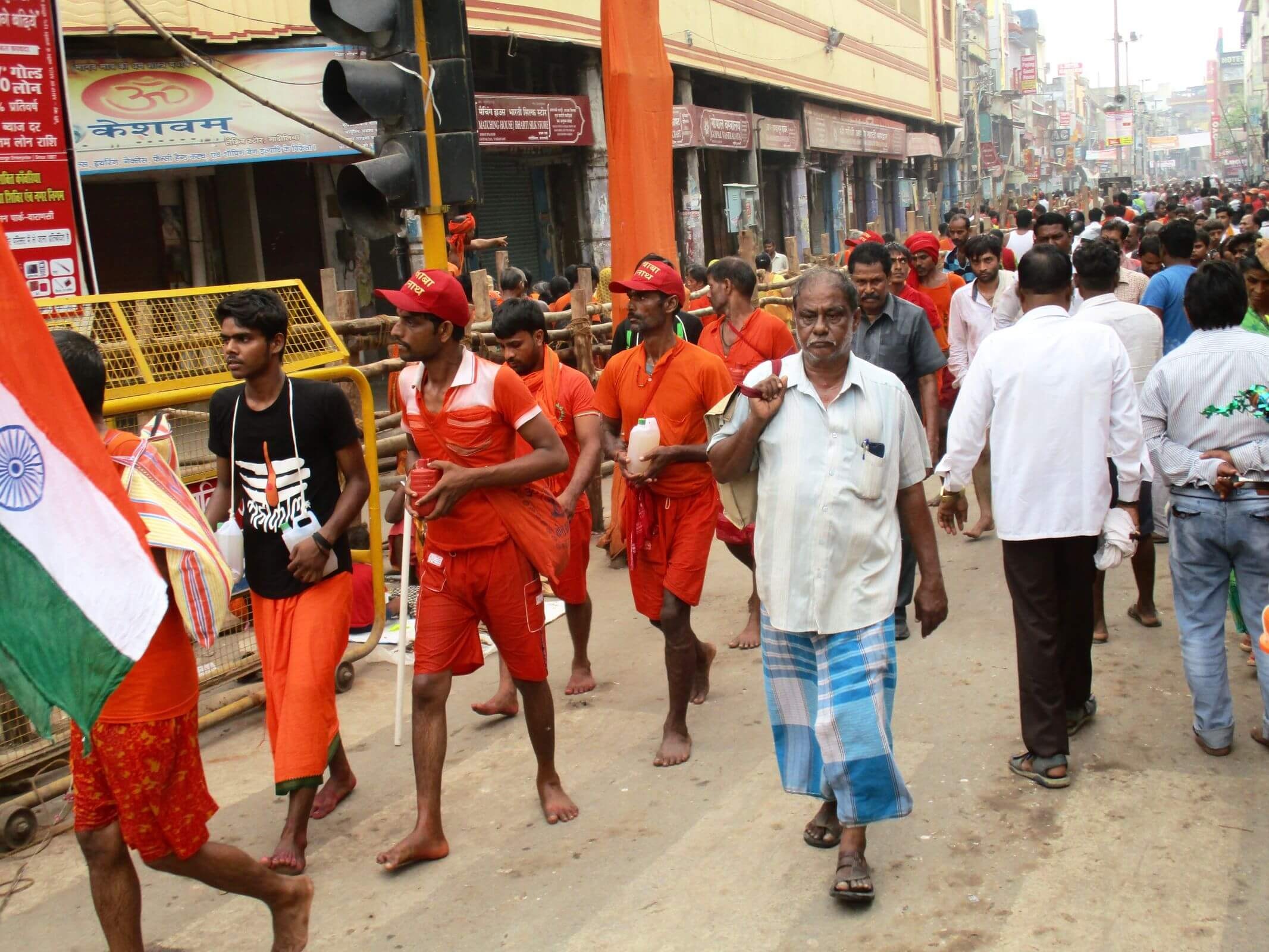 Pilgrims on Yatra