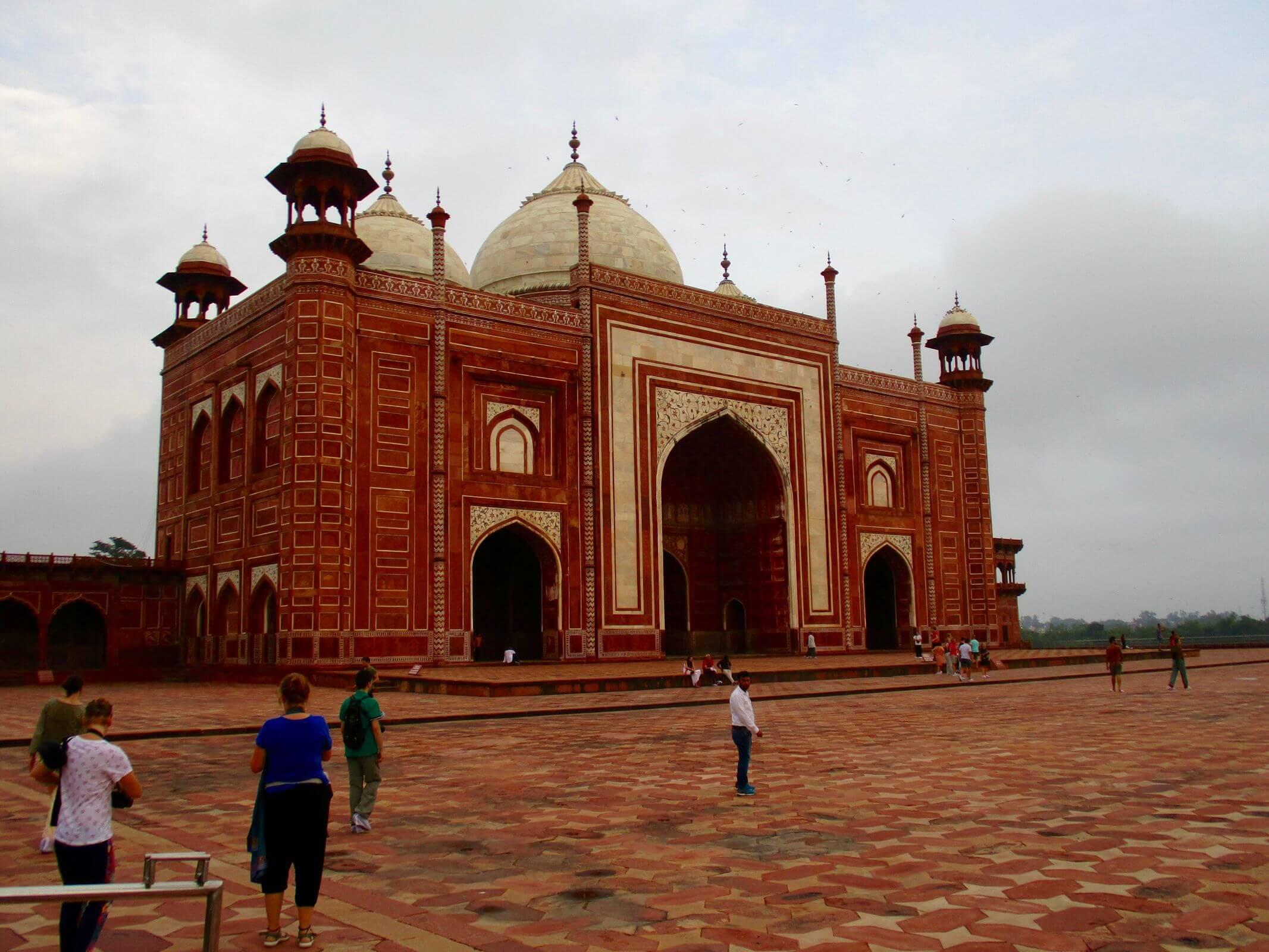 Taj temple